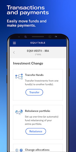 Equitable Mobile App screenshot 4