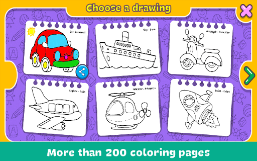Coloring & Learn  screenshots 4