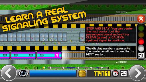 Subway Simulator 2D - city metro train driving sim apkpoly screenshots 4