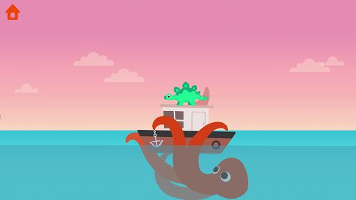 Dinosaur Patrol Boat - Coast Guard Games for kids apkmr screenshots 2