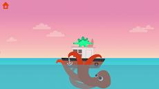 恐竜パトロールボート - 子供のための沿岸警備隊ゲームのおすすめ画像2