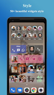 Contacts Widget MOD APK by Makeev Apps 2