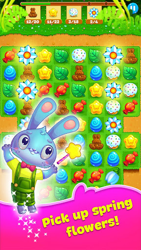 Easter Sweeper - Chocolate Bunny Match 3 Pop Games 2.3.3 screenshots 1