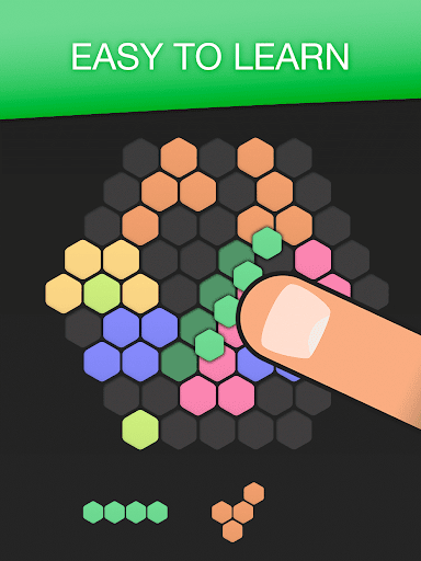 Hex FRVR - Drag the Block in the Hexagonal Puzzle screenshots 6