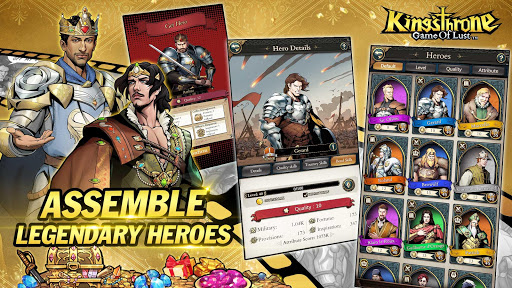 King's Throne: Game of Lust 1.3.61 Paidproapk.com 3