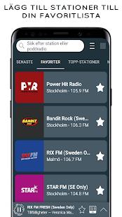 ラジオスウェーデン-オンラインラジオとFMラジオ