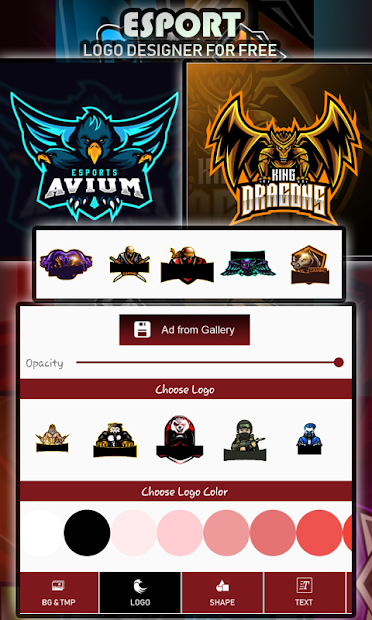 Logo Esport Maker | Create Gaming Logo Maker screenshot 15