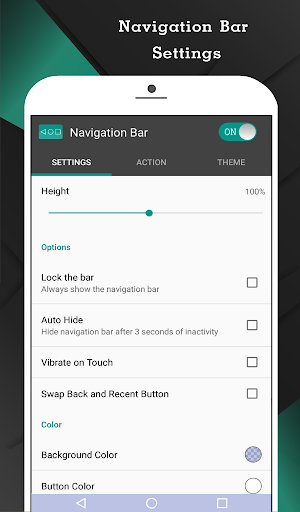 Navigation Bar (Back, Home, Recent Button) 2.1.4 Screenshots 2
