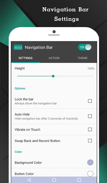 Navigation Bar (Back, Home, Recent Button)  poster 1