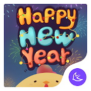 New year|APUS Launcher theme