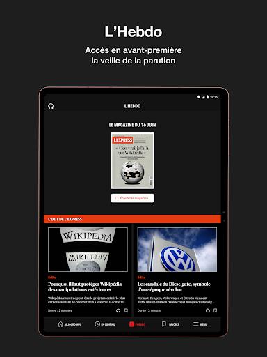 L'Express I Actualités, Infos, France, Monde  screenshots 19