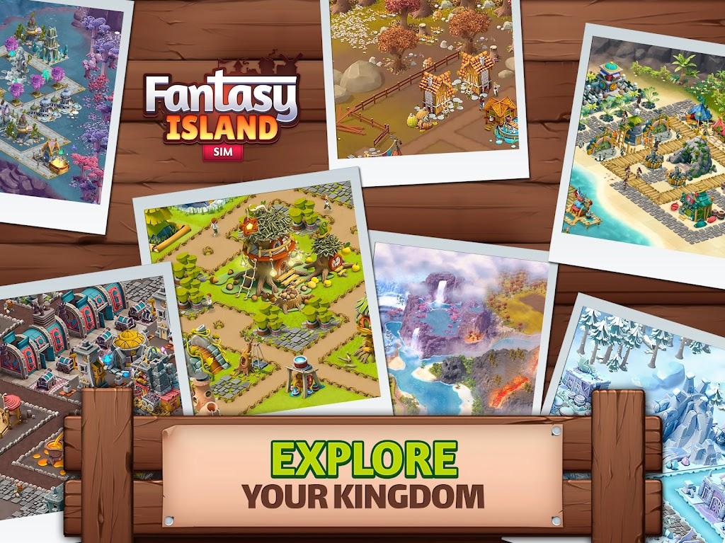 Fantasy Island Sim: Fun Forest Adventure  poster 10