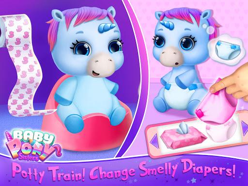 Baby Pony Sisters - Virtual Pet Care & Horse Nanny 5.0.14007 screenshots 11