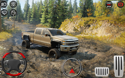 Offroad jeep Simulator -New Mud Runner Game 1 screenshots 2