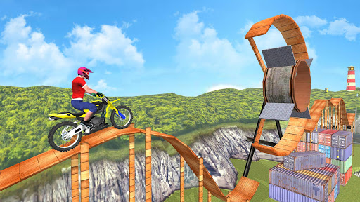 New Bike Racing Stunt 3D : Top Motorcycle Games 0.1 screenshots 17