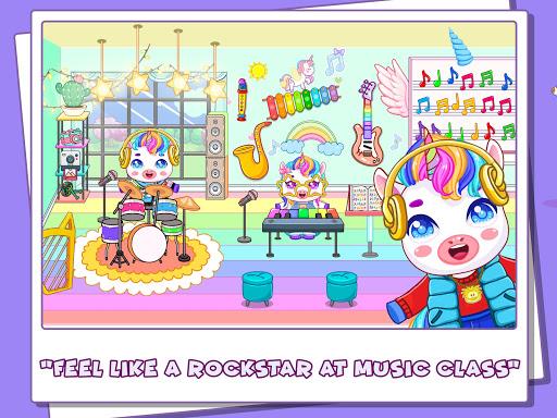 Mini Town: Unicorn School modavailable screenshots 4