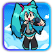 Friday Mod Hatsune Miku Dance  Button/simulator