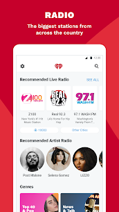 iHeartRadio Mod Apk: Radio, Podcasts 10.2.0 (Ad-Free) 3