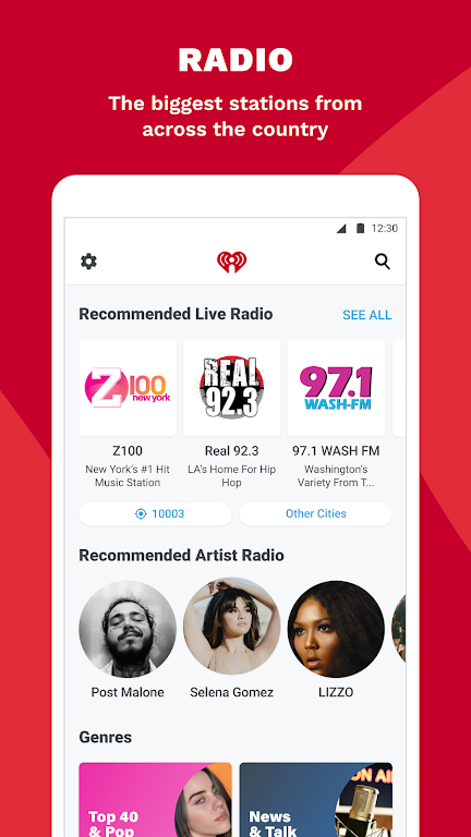 iHeartRadio: Radio, Podcasts & Music On Demand poster 2