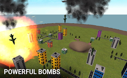 Nuclear Bomb Simulator 3D MOD APK 3.0 (Unlimited Missile) 2
