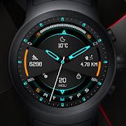 Futurus Watch Face & Clock Live Wallpaper