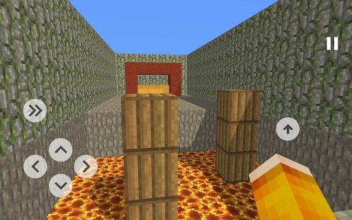 Blocky Parkour 3D  screenshots 1