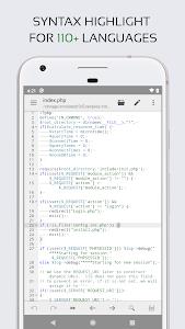 Code Editor - Compiler, IDE, Programming on mobile 0.5.6