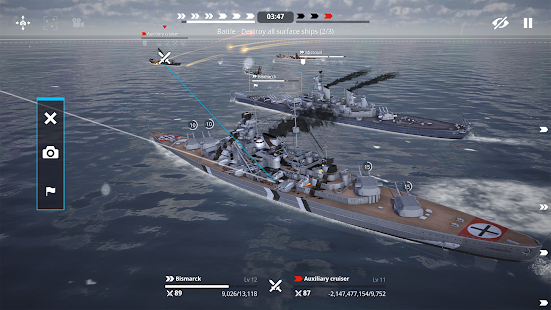 Warship Fleet Command : WW2 Naval War Game 2.01803 Screenshots 14