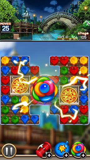 Jewel Royal Garden: Match 3 gem blast puzzle 1.0.1 screenshots 2