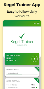 Kegel Trainer - Exercises Screenshot