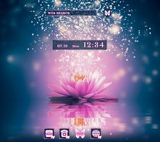 美しい壁紙アイコン ハスの花の灯り 無料のおすすめ画像1
