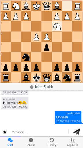 Chessplaying with a friend. Play chess online free  screenshots 1