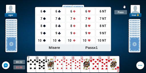 Preferans: Classic Online Card Game 1.10.10 screenshots 1