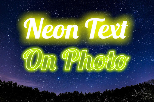 Neon Text On Photo 2.00 Screenshots 1