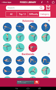 Yoga Poses App - Free for Beginners, Weight Loss
