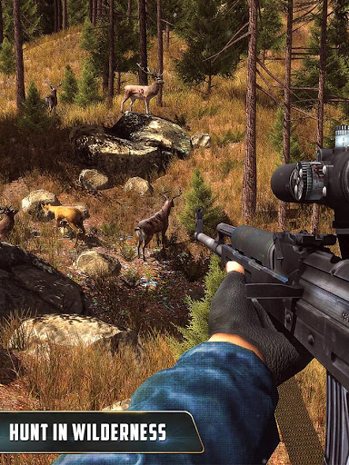 Wild Animal Hunting : Jungle Sniper FPS Shooting 1.10 screenshots 1