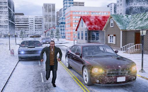 Hiver Ville Tireur Bandit Mafia APK MOD – Pièces de Monnaie Illimitées (Astuce) screenshots hack proof 2
