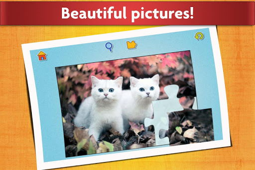 Cats Jigsaw Puzzles Games - For Kids & Adults ud83dude3aud83eudde9 screenshots 5