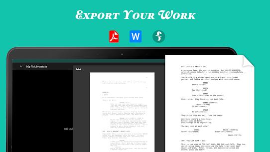 JotterPad – Writer, Screenplay, Novel (MOD, Premium) v13.0.11 20