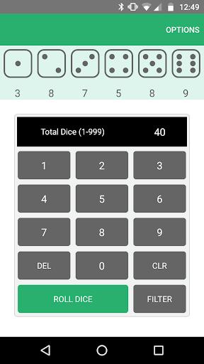 Xd6 - Dice Roller apkmartins screenshots 1
