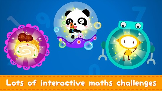 Little Panda Math Genius - Education Game For Kids Screenshot
