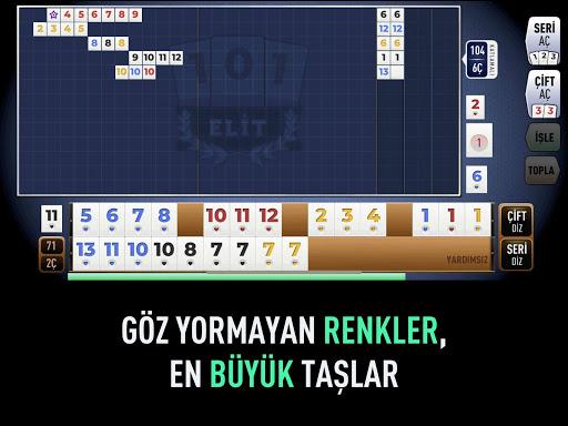 101 Yu00fczbir Okey Elit 1.4.4 screenshots 6