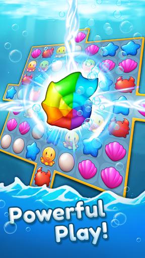 Ocean Friends : Match 3 Puzzle 41 screenshots 4