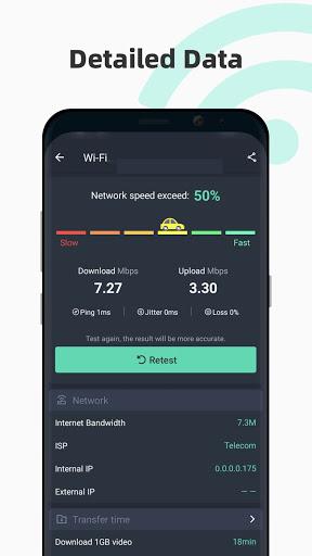 Internet speed test Meter- SpeedTest Master android2mod screenshots 2