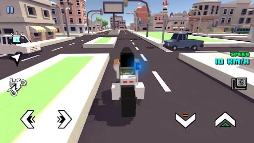 Blocky Moto Racing - motorcycle rider 1.30 screenshots 20