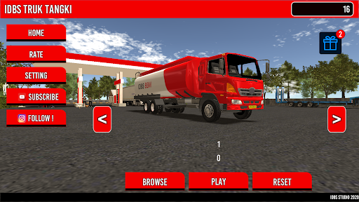 IDBS Truk Tangki screenshot 1