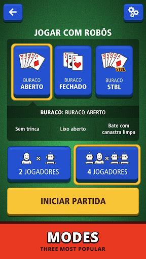 Buraco Canasta Jogatina: Card Games For Free 4.1.3 Screenshots 5