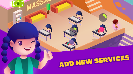 Idle Beauty Salon: Hair and nails parlor simulator apkslow screenshots 8