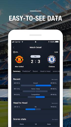 BeScore - Live Scores, Prediction, Analysis  Screenshots 4