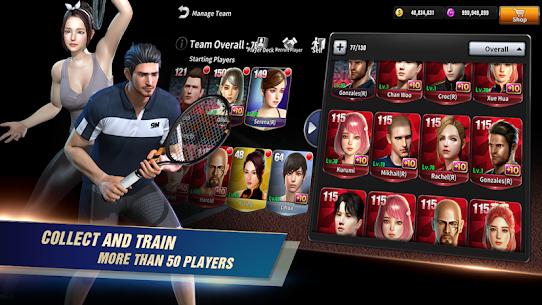 Free Ultimate Tennis  3D online sports game 4